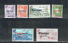 Herm Island 1961 Europa set Unmounted mint