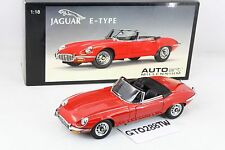 AUTOart 1:18 scale Jaguar E-Type Roadster Series III V12(Red) *RETIRED/RARE*