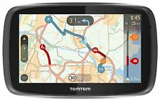 TomTom GO 50 5 pollici Sat Nav con UK, Roi e mappe dell'Europa occidentale-Nero