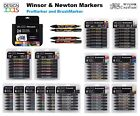 Winsor & Newton Promarker and Brushmarker alchool markers drawing sets NEW