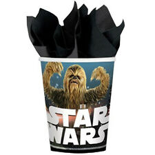 STAR WARS Classic 9oz PAPER CUPS (8) ~ Birthday Party Supplies Beverage Drinking