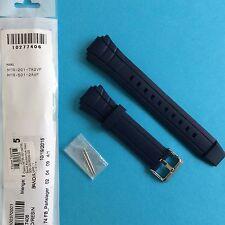 Casio uhrband mtr-201 y mtr-501 azul caucho