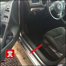 Battitacco con scritta Golf VW V 5p satinati protezione soglia battitacchi 05-08