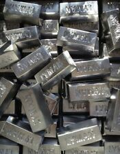 Lof of 10 Pound Soft Lead Lyman Ingots for Fishing Sinkers or Bullet Casting