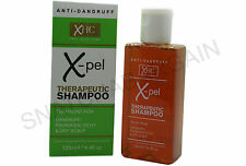 XPEL THERAPEUTIC SHAMPOO TREATMENT FOR: DANDRUFF PSORIASIS ITCHY DRY SCALP 125ml