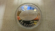 Netherlands 10 Gulden 1999 2000 Silver Coin Proof Millennium COLLECTION Beatrix