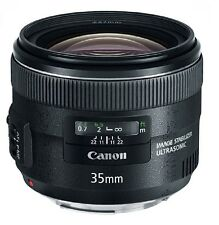 Canon EF 35mm f/2  IS USM Standard Prime Lens  cat# 5178B002