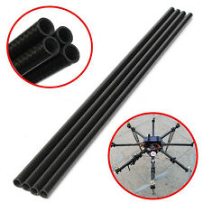 4pcs Carbon Fiber Tube Boom for RC Quad Xcopter Quadcopter Black 33cm*8mm*6mm #5