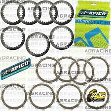 Apico Clutch Kit Steel Friction Plates For Husqvarna WR 250 2007 MotoX Enduro