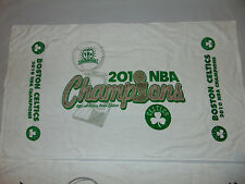 "NBA 2001 Finals Champs 42"" X 23"" Pool Beach Dorm Towel NEW! BOSTON CELTICS Rare"