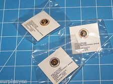3 EA USMC MARINE CORPS HONORABLE DISCHARGE LAPEL HAT PIN BADGE BUTTON SHELBY P38