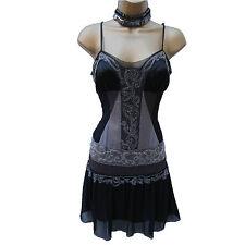 KAREN MILLEN Gatsby Flapper 20's Silk Beaded Evening Cocktail Dress 12 UK