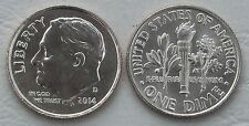 USA Dime 10 Cents 2014 D unz.