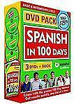 Spanish in 100 Days DVD PK Spanish Edition