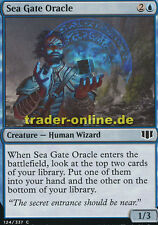 4x Sea Gate Oracle (Orakel aus Seetor) Commander 2014 Magic