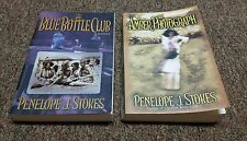 PENELOPE J. STOKES 2 trade size books THE BLUE BOTTLE CLUB, THE AMBER PHOTOGRAPh