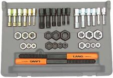 40 Pc. SAE and Metric Thread Restorer Kit Thread repair Tap and Die Made in USA