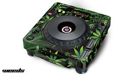 Skin Decal Sticker Wrap for Pioneer CDJ 800 MK2 Turntable Pro Audio Mixer WEED K