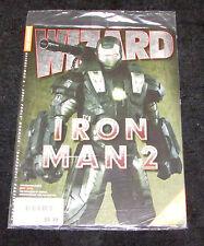 Wizard Magazine Issue 224 Sealed in Bag NEW Iron Man 2 Spider-Man 4 Daredevil