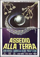 CINEMA-manifesto ASSEDIO ALLA TERRA neville, licudi, stone, KRISH