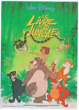 "CPM -Carte postale WALT-DISNEY Affiche de film"" LE LIVRE DE LA JUNGLE """