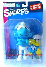 The Smurfs Large Figure Collection Vanity Smurf 5.5in. New Rare Toy