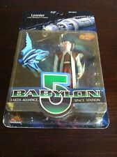 "Babylon 5  Lennier (Sienna Robe) 5.5"" Action Figure-MOC"