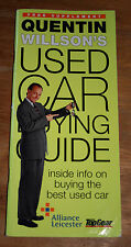 Quentin Willsons Used Car Buying Guide - Booklet 65 pages - 1998