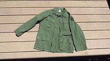 Vietnam US Army Military Jungle Jacket Fatigue 3rd Pattern Medium Short 101st