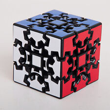 3x3x3 Gear Teaser Square Brain Speed Cube Puzzle Black Adult Intelligence Toys