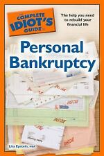 The Complete Idiot's Guide to Personal Bankruptcy, MBA, Lita Epstein, Good Condi