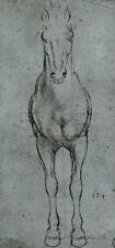 Leonardo da Vinci (Horse study) Art Poster Print Poster Print, 13x19