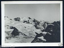 photo ancienne . environs de la Redoute Ruinée . les glaciers du Ruitor
