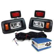 CLUB CAR DS GOLF CART HALOGEN LIGHT KIT w/LED TAIL LIGHT 1993-UP