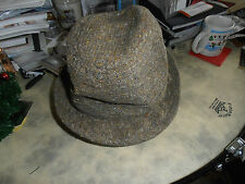 Vintage T O'Gorman & Sons Ltd Irish Tweed Country Hat Size 7