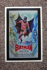 Batman 60s Lobby Card Movie Poster #4 Adam West Burt Ward 12 x 18 White
