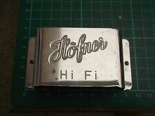 Original HOFNER hi-guitare Fi bridge cover/palm rest 1960's/1970's - petit