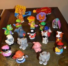 Lot of 22 Fisher-Price Little People Zoo Animals Dragon Circus Seal Dog Archer