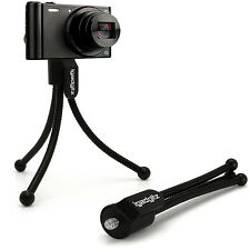 Mini Flexible Table Top Tripod for Digital Compact Cameras with Pocket Belt Clip
