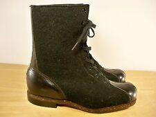 Vintage WW2 World War II US Air Force Wool Flight Aviation Flying Men's Boots 8