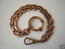 Antike Uhrenkette Uhr Kette Taschenuhrkette 10,3 g/Länge:19 cm/Breite:0,9 cm