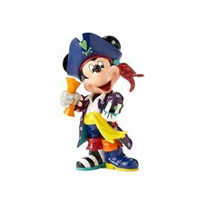 Disney By Romero Britto Mickey Mouse Pirate Figurine *NEW*