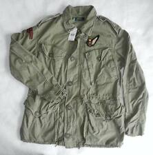 Polo Ralph Lauren Eagle Embroidered Military Combat Jacket - BNWT New - Large
