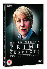 Prime Suspect 6 - The Last Witness (DVD, 2006) NEW AND SEALED REGION 2