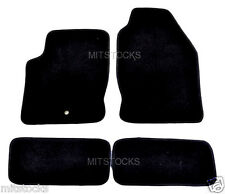 FIT FOR 2000-2007 FORD FOCUS BLACK NYLON CARPET FLOOR MATS