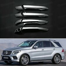 5pcs Chrome Outer Side Car Door Handle Cover for Mercedes Benz GLE-Class 16-17