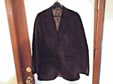 mens crushed velvet steampunk cosplay smoking jacket 38 blazer 2 button