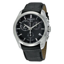 Tissot T-Trend Couturier Chronograph GMT Black Dial Mens Watch JD5CJP