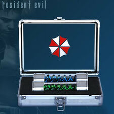 HCG RESIDENT EVIL T-Virus & Anti-Virus Prop Replica With Case Capcom NEW