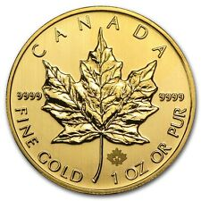 2013 1 oz Gold Canadian Maple Leaf Coin - Brilliant Uncirculated - SKU #71261